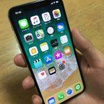 iPhoneXと手の対比