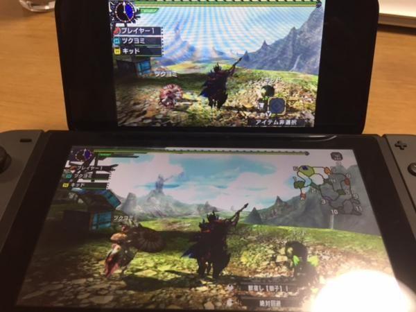 MHXX 3DS版とニンテンドースイッチ版の比較