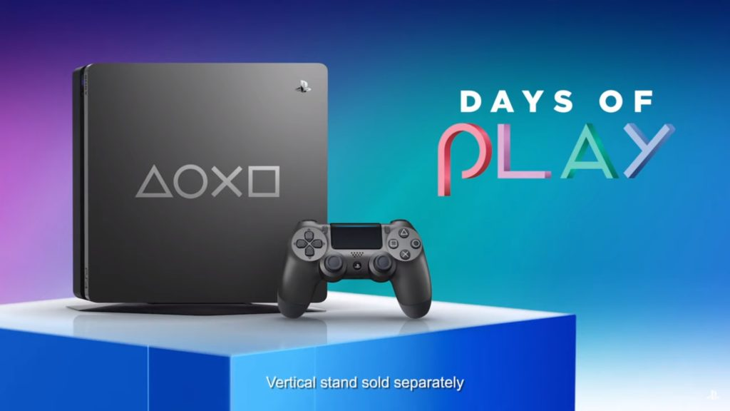 PS4 Days Of Play 2019